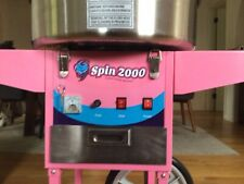 New Listingcotton Candy Machine Cart And Electric Candy Floss Maker Commercial Quality