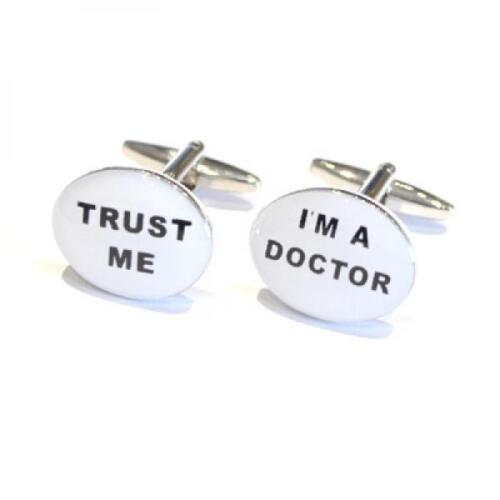 Trust me I/'m A Doctor Gemelos consultor Gp Partido Navidad Regalo De Cumpleaños