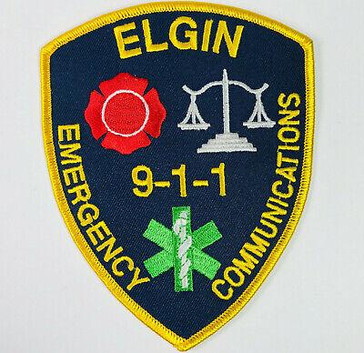 ELGIN TEXAS TX POLICE PATCH