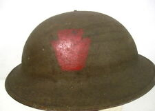 WWI US Army AEF M1917 Helmet w/Liner Hand Painted - 28th Infantry Div. PA Guard