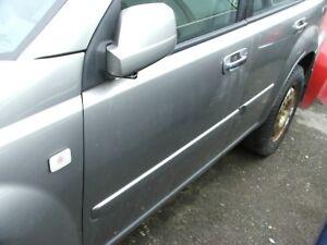 original-NISSAN-X-TRAIL-Tuer-hinten-links-komplett-Farbe-KX4-Silver-Grey-2003