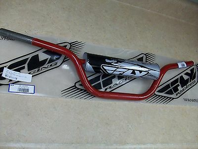 Pad YAMAHA Banshee YFZ350 YFZ 350 Blaster FLY Racing RED Steel Handlebars