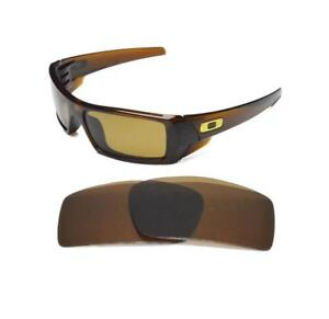 aa79c17ed Image is loading NEW-POLARIZED-REPLACEMENT-BRONZE-LENS-FOR-OAKLEY-GASCAN-