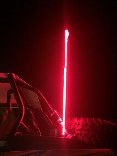 6ft 20 Color 200 Combination LED Lighted Whip Polaris RZR 1000 Turbo XP YXZ X3