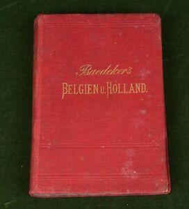 Baedeker-s-Belgien-Holland-1880-15-Auflage