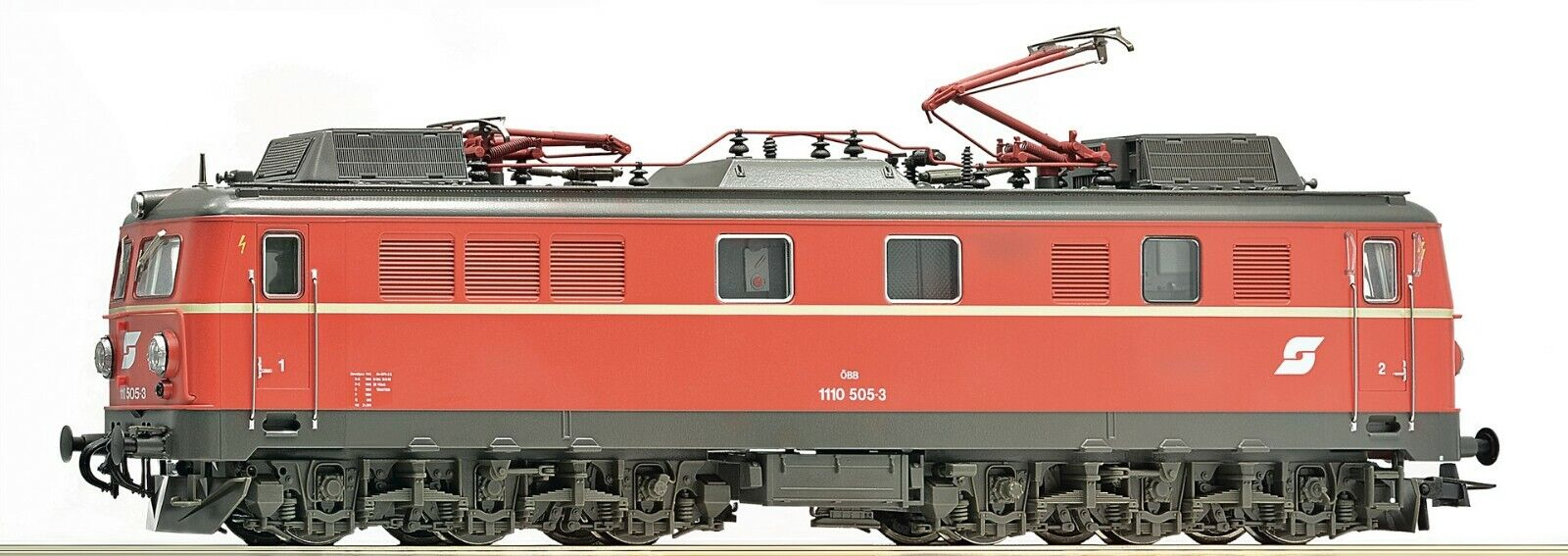 Roco HO scale Electric locomotive class 1110.5 OBB