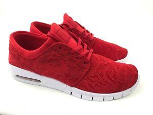 75ecf35575 Nike SB Stefan Janoski Max Shoes Red Pattern Skateboard Nike Air ...