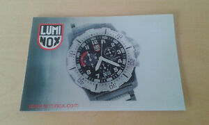 Luminox Sunny Used 5 7/8x3 7/8in Item For Collectors Lustrous Foil Adhesive