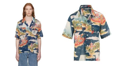 Our Legacy Hawaiian Shirt Size 48 Medium