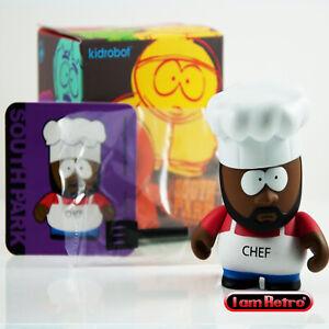 Chef-south Park Series 1 Vinyl Mini Figure Neuf Comme Neuf In Box-afficher Le Titre D'origine Prix Raisonnable