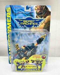 Jetstorm Deluxe Transformers Beast Machines Hasbro 1999 Action Figure NEW MOSC