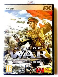 Men-Of-War-Condemned-Heroes-PC-Neuf-Nouveau-Retro-Scelle-Scelle-Videogame-Spa