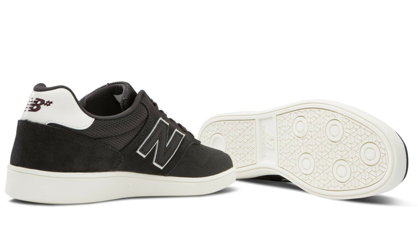 MENS SKATEBOARDING NEW BALANCE NUMERIC 288 SKATEBOARDING MENS SHOES BLACK CAVIAR WHITE    (DKG) f29b3b