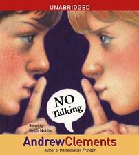 Andrew Clements - No Talking (2007  audio book 3 CDs Unabridged