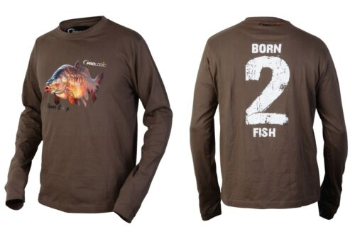 Hemden & T-Shirts ProLogic Born-2-Fish Longarm Sleeve T-Shirt Größe wählbar