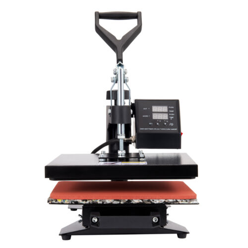 30x25cm Hitzepresse Maschine Transfer T-Shirt Becher Transferpresse Textildruck