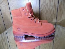 Timberland 6/' Premium Suede Boots Stone Blue TB0A1KQ4 Sz 4-7 Grade School