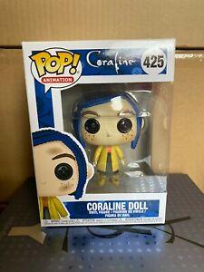 Coraline Doll Funko Pop Coraline Vinyl Figure Bnib Ebay