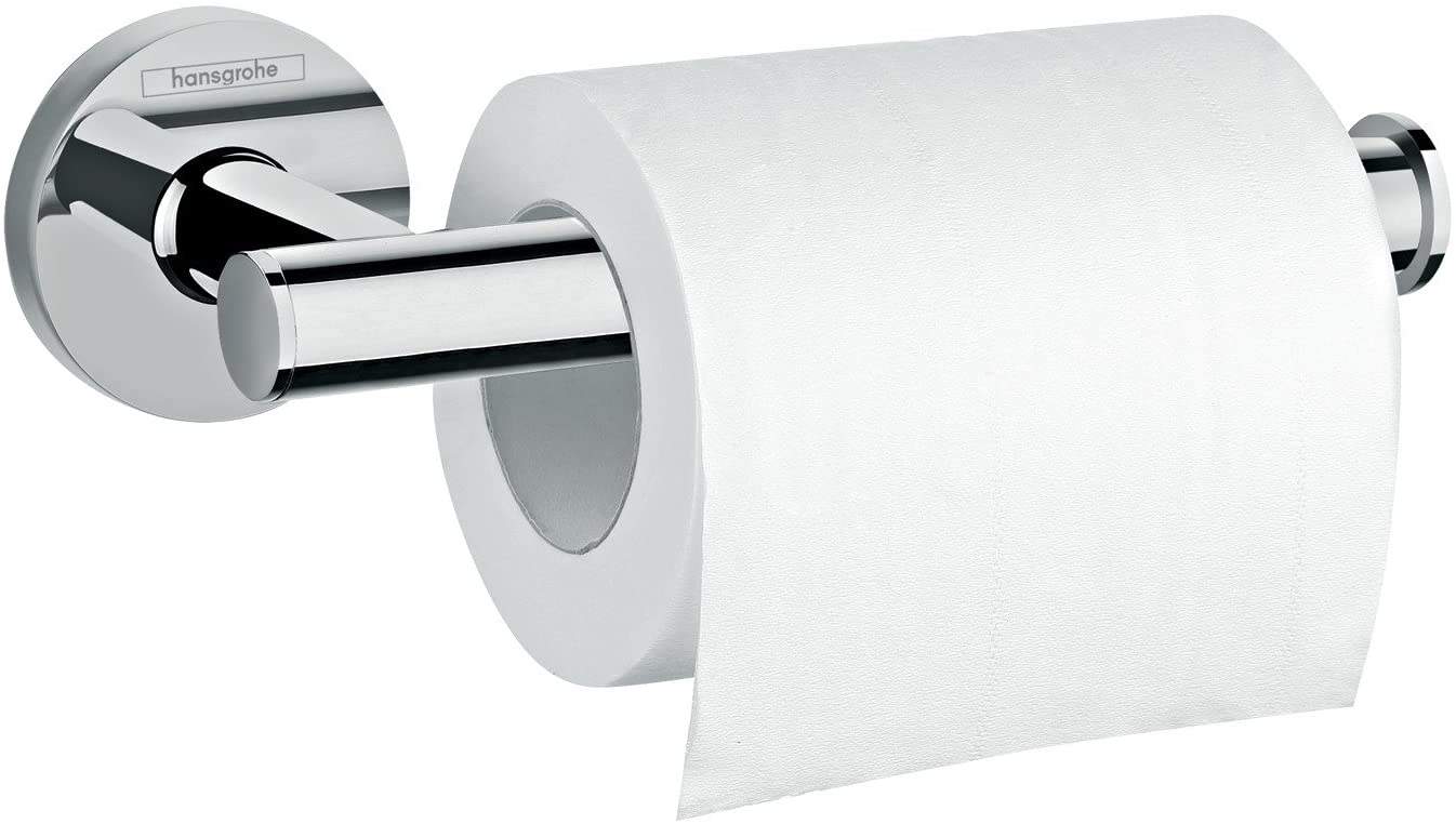 Toilet Paper Storage Bathroom Accessories Wall Mounted Holder in Chrome 7inch