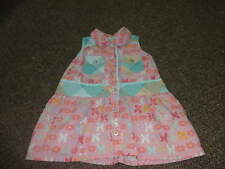 BOUTIQUE OILILY 80 18M 18 MONTHS BUTTERFLY FLORAL DRESS