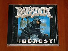 PARADOX HERESY CD *RARE* 1989 ROADRACER RECORDS SPV LTD REPRESS Thrash Metal