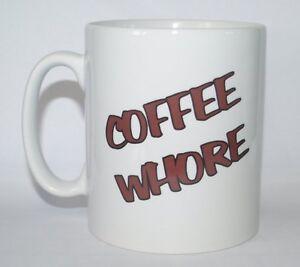 COFFEE-WHORE-Funny-Novelty-Rude-Joke-Printed-Tea-Coffee-Drinking-Mug