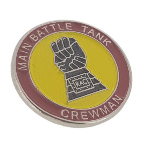 Iron Fist Royal Armoured Corps Main Battle Tank Crewman Lapel Badge