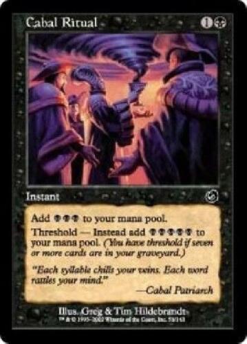 Cabal Ritual NM MTG Torment TO Magic Gathering 0QD