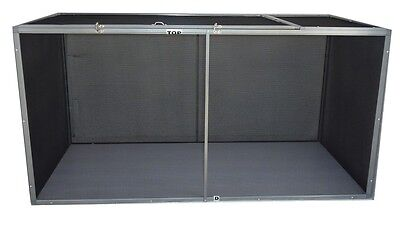 HORIZONTAL SCREEN REPTILE CAGE 36x18x18 - GLOBAL SHIPPING AVAILABLE! NEW!