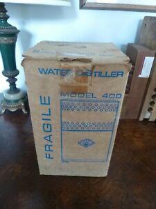 KIRSCHMANN MODEL 400 HOME WATER DISTILLATION UNIT STAINLESS STEEL USA