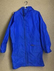 VINTAGE BERGHAUS JACKET Monsoon FESTIVAL RETRO 1980\u0027s Blue Medium