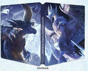 Monster-Hunter-World-Iceborne-Steelbook-ohne-Spiel-PS4-X1-NEU