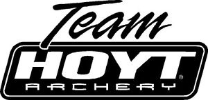 Team Hoyt Archery Vinyl Sticker BOW HUNTING BEAR DEER ELK ...