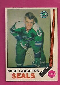 1969-70-OPC-148-SEALS-MIKE-LAUGHTON-ROOKIE-NRMT-CARD-INV-2470