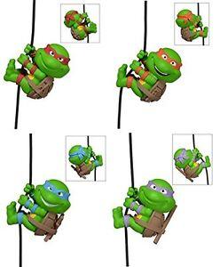 - 4-teiliges Mini-figurenset klemmen tmnt UnermüDlich Teenage Mutant Ninja Turtles
