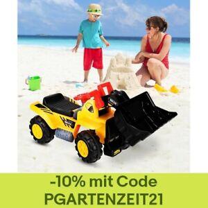 Sitzbagger Kinderbagger Bagger Spielzeug Sandbagger Rutscher Bagger