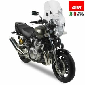 Windscreen-Sliding-Airflow-Universal-Motorcycle-Naked-Light-round-givi-AF49