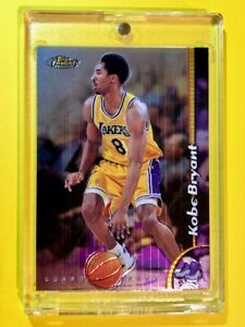 Kobe-Bryant-1998-99-TOPPS-FINEST-HOLOFOIL-LAKERS-INVESTMENT-CARD-175-Mint
