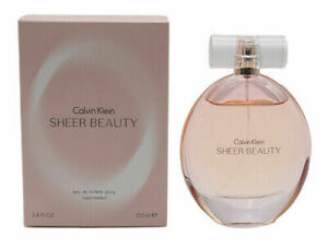 CK Sheer Beauty by Calvin Klein 3.3 / 3.4 oz EDT Perfume for Women New In Box
