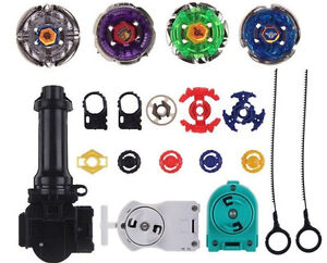 Top-Metal-Master-Fusion-Rapidity-Fight-Beyblade-4D-Launcher-Grip-Set-US-SELLER