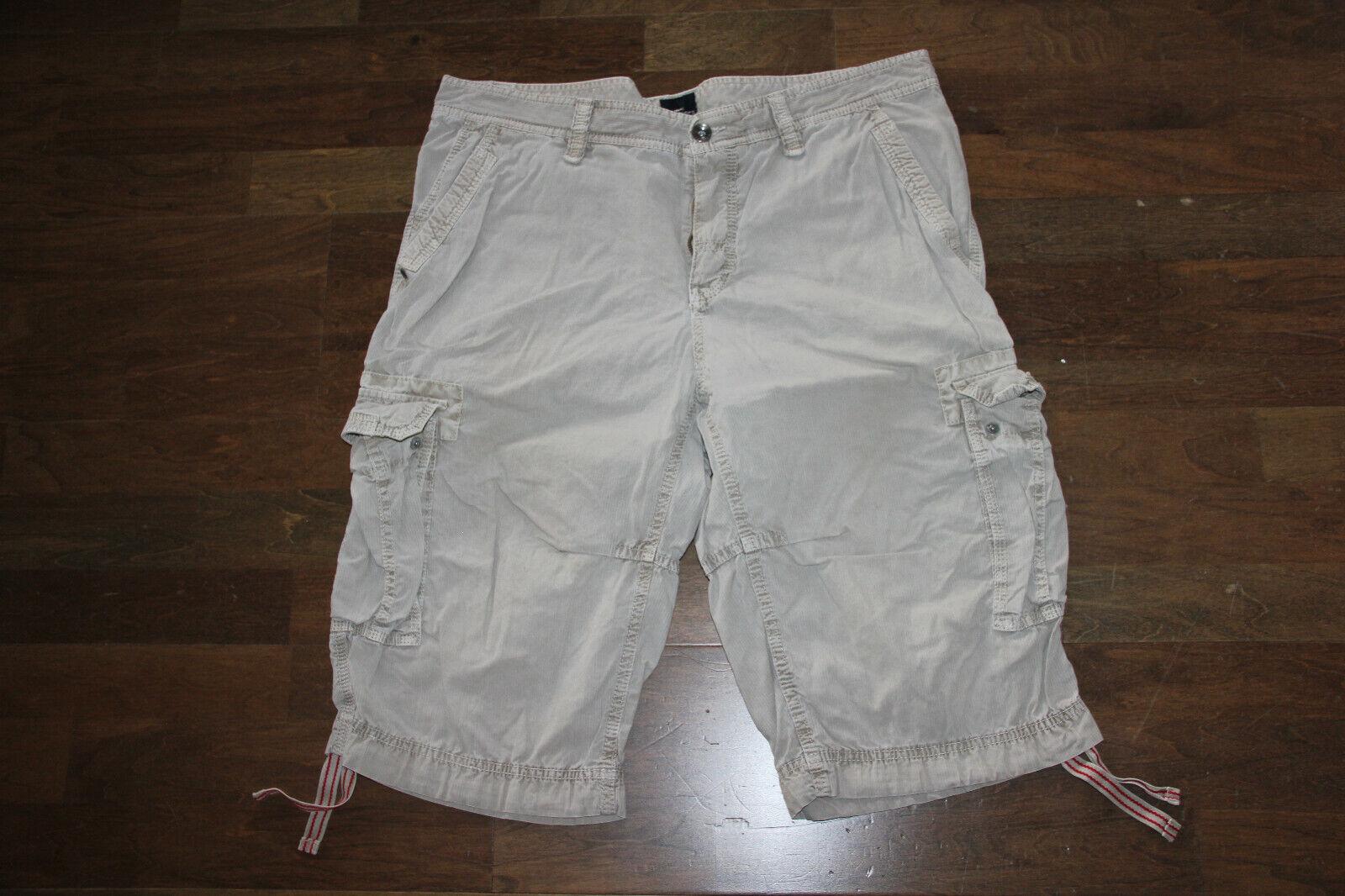 beige ENGBERS Shorts Gr 52 regular gerades Bein mit Bändel Kurze Hose