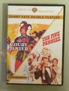 danny-kaye-THE-COURT-JESTER-THE-FIVE-PENNIES-DVD-2-disc-set