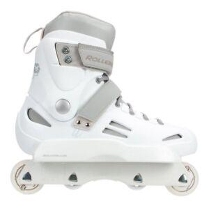 complete setup Rollerblade Solo Trooper aggressive inline skates