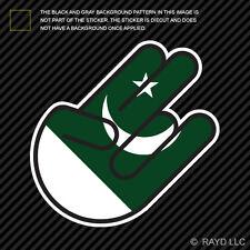 Pakistani Shocker Sticker Die Cut Decal Self Adhesive Vinyl Pakistan PAK PK