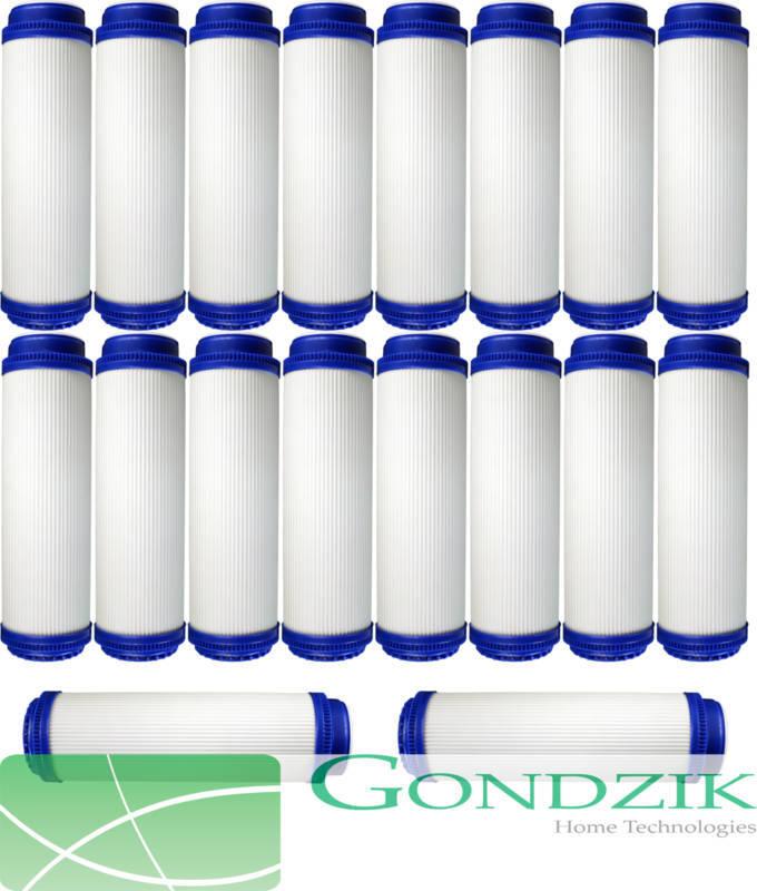 Gondzik 20x Granulés Charbon Actif Filtre cartouche Gac 10