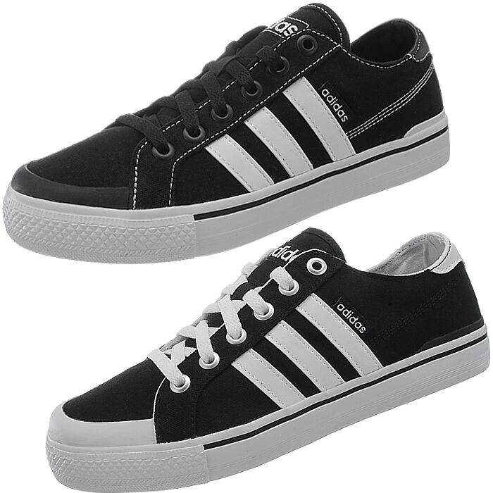Adidas Clemente Homme casual  chaussures  2 versions sneakers plimsoll NEW