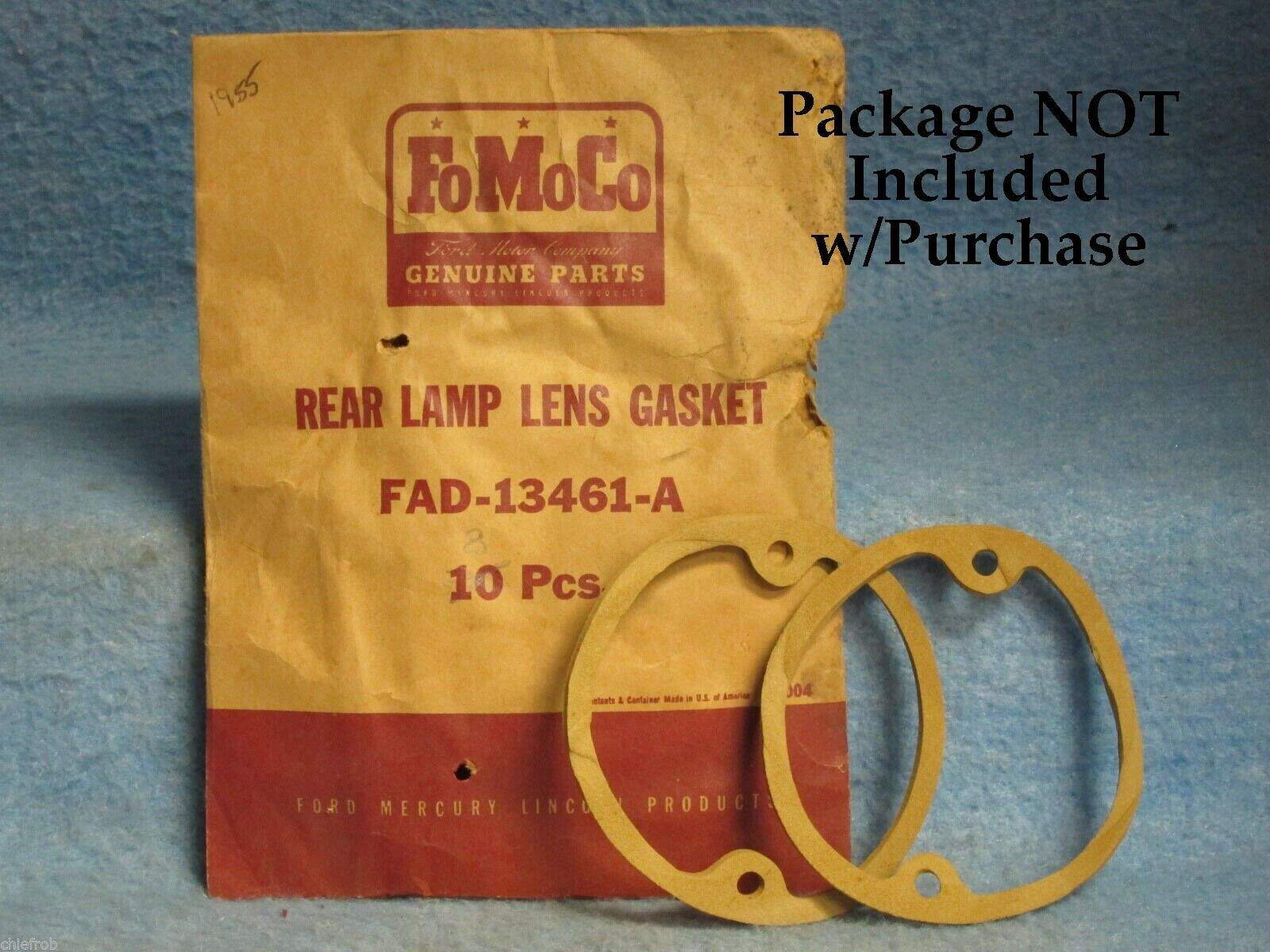 For 1950-1953 Ford Country Squire Thermostat Gasket 79658CX 1951 1952