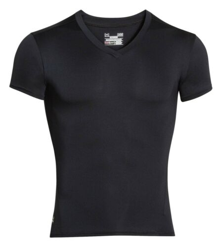 NEW Under Armour Men/'s Tactical HeatGear Compression V-Neck T-Shirt 1216010