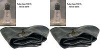 Two 12r16.5 12-16.5 Skid Steer Bobcat Backhoe Tire Inner Tubes Heavy Duty