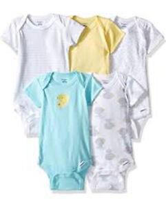 4aded9382 Image is loading Gerber-Baby-Boys-Variety-Onesies-Brand-Bodysuits-Duck-